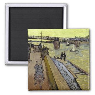 Aimant Vincent van Gogh | Le Pont de Trinquetaille Arles