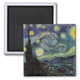 Aimant Vincent van Gogh - nuit étoilée