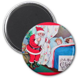 Aimant vintage-santa-christmas-post-cards-0026