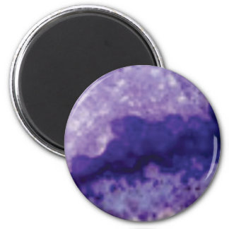 Aimant violette de crevasse de fente
