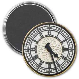 Aimant Visage d'horloge de Big Ben