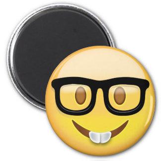 Aimant Visage nerd Emoji