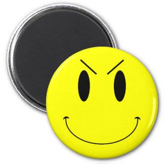 Aimant Visage souriant mauvais jaune de KRW