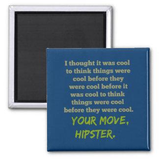 Aimant Votre mouvement, hippie