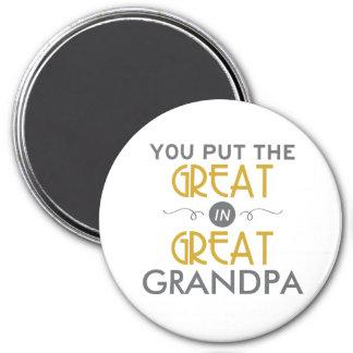 Aimant Vous avez mis le grand dans le grand grand-papa
