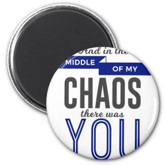 Aimant Vous dans le chaos