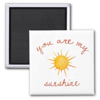 Aimant Vous êtes mon art de citation de soleil
