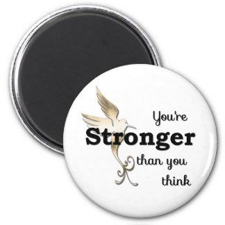 Aimant Vous êtes plus forts que vous pensez