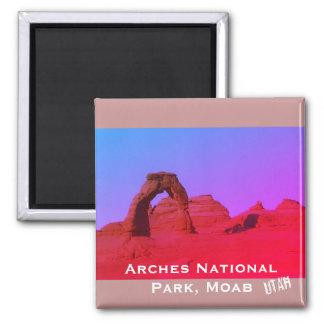 Aimant Voûtes parc national, paysage de Moab, Utah