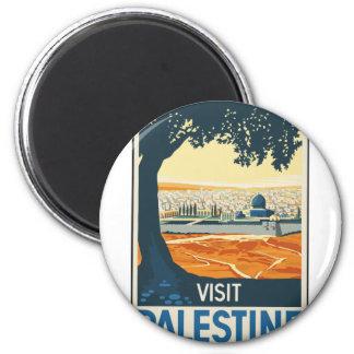 Aimant Voyage vintage Palestine