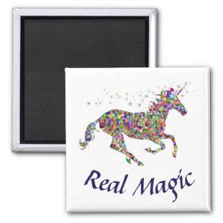Aimant Vraie coutume d'aimant de carré magique de licorne