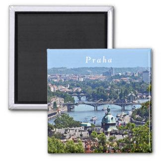 Aimant Vue de la ville du château de Prague