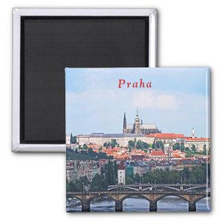 Aimant Vue de Prague de la forteresse de Vyšehrad