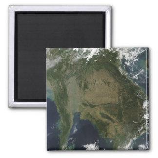Aimant Vue satellite de l'Indochine