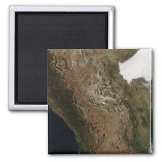 Aimant Vue satellite du paysage de Mexi central