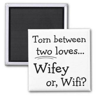 Aimant Wifey ou Wifi drôle