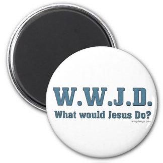 Aimant WWJD ? Que Jésus ferait-il ?