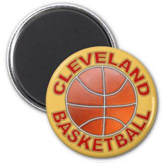 Aimants ronds de basket-ball de Cleveland