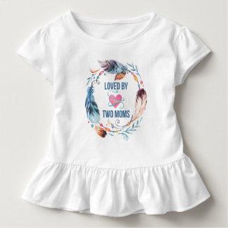 Aimé par la chemise de Bohème de ruche de deux T-shirt Pour Les Tous Petits