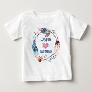 Aimé par le T-shirt de Bohème de bébé de deux