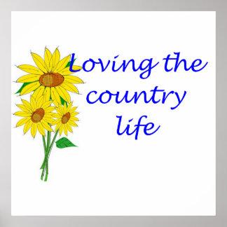 Aimer la vie à la campagne poster