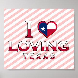 Aimer, le Texas Affiche