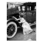 Aimer ma vieille voiture, les années 1920 cartes postales