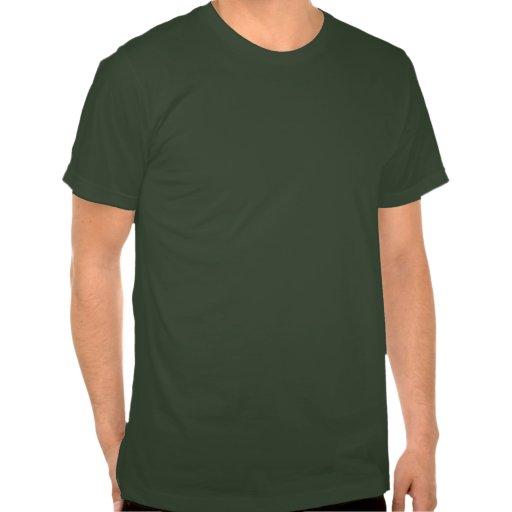 Aimez la planète réutilisent le T-shirt américain