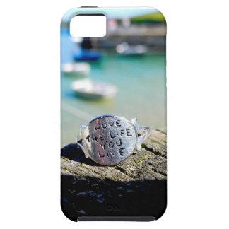 Aimez la vie où vous vivez cas de l'iPhone 5 Coques iPhone 5