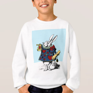 Aimez le lapin blanc Alice au pays des merveilles Sweatshirt