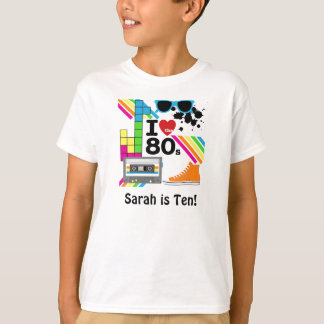 Aimez le T-shirt customisé par années 80
