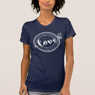 Aimez le T-shirt de 12h30 de seigneur Your God