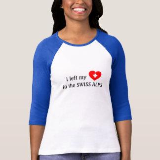 Aimez les Alpes - T-shirt suisse de souvenir