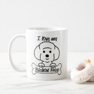 Aimez ma tasse de Bichon Frise