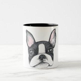 Aimez ma tasse de café française de Terrier
