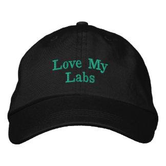 Aimez mon casquette de concepteur de laboratoires