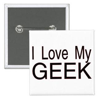 Aimez mon geek pin's