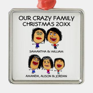Aimez notre ornement fol de trois enfants