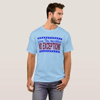 """""""Aimez Thy voisin"""" de couleur claire T-shirt"""