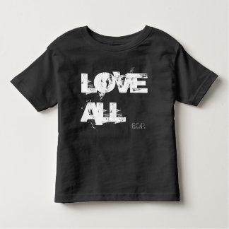 Aimez tous t-shirt pour les tous petits