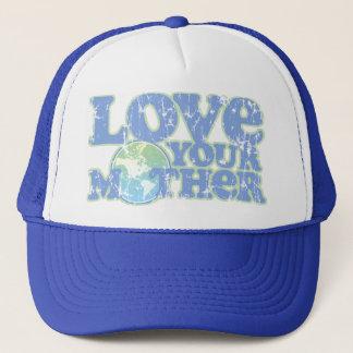 Aimez votre casquette de camionneur de Terre