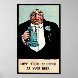 Aimez votre voisin posters