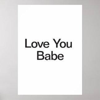 Aimez-vous bébé posters