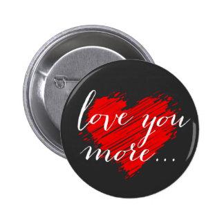Aimez-vous davantage… coeur rouge pin's