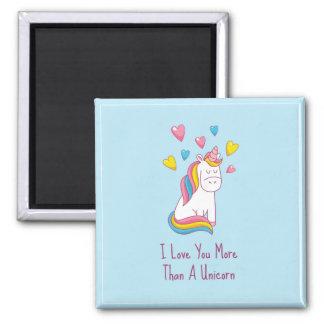 Aimez-vous davantage qu'un aimant de licorne