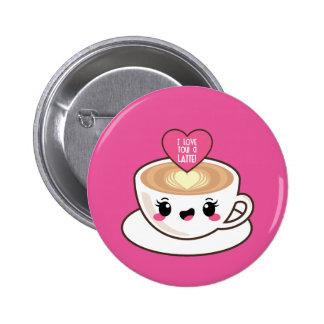 Aimez-vous un Latte EMoji Badges