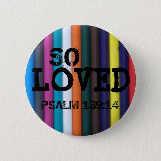 Ainsi aimé, 139:14 de psaume pin's