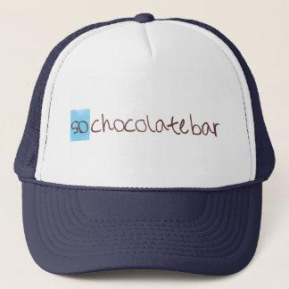 Ainsi casquette de camionneur de barre de chocolat