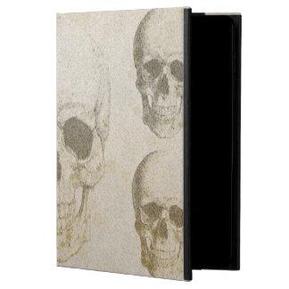 Air abstrait d'iPad de Skull&Bones 2 cas de POWIS