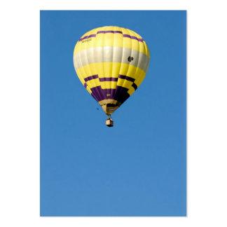 Air-ballon en ciel bleu carte de visite grand format